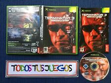Terminator 3 Rise Of Machines Xbox BUENA CONDICION