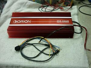 ORION 250 HCCA 2ND GEN. OLD SKOOL 800WRMS 2CH AMP, RECAPPED, NICE, USA!!! #2