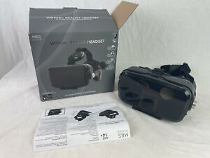 Marks & Spencer Virtual Reality Headset Built In Headphones Universal 3D N436