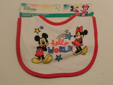 Disney Baby Mickey and Minnie Mouse Infant Bib