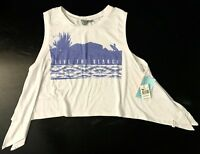 NEW Rip Curl Womens Surf Tank Top LIVE THE SEARCH White S,M,L,XL - Retail $29.50