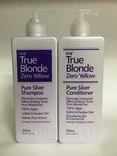 HI LIFT TRUE BLONDE ZERO YELLOW PURE SILVER SHAMPOO & CONDITIONER DUO 350ml