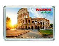 Iman Nevera Panorámico ROMA ITALY ITALIA Panoramic fridge magnet souvenir