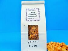 Kitty Cheddar Cat Treats- Bakery freshness in a bag.  4 oz.