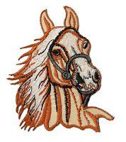 Écusson patche Cheval patch Cavalerie DIY brodé thermocollant
