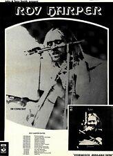 "(12/2/1972) ADVERT 16X12"" ROY HARPER : STORMCOCK ALBUM & TOUR DATES"