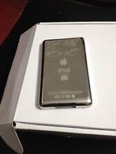 Silver U2 back cover for iPod Video 30GB Classic 6th 80GB 120GB 160GB slim Case