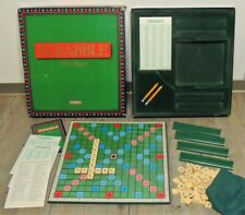 Scrabble Deluxe 1988 Turntable Board Edition by Spear's Games - Complete.