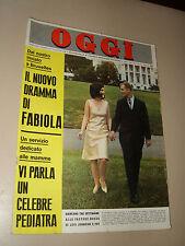 OGGI=1966/29=LUCI JOHNSON=PENNE=ALBERT BROCCOLI=LOUISBOURG TREASURE=RIBALDONE G.