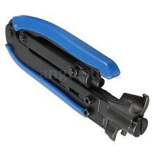 RG59 RG6 RG11 Coaxial Cable Crimper Compression Tool F Coax Connector CATV TV