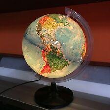 Mappamondo Globo terrestre luminoso Tecnodidattica Ligure diametro 30 cm