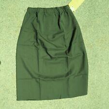 USMC Marine Corps Woman's Green Maternity Skirt Class A Wool/Poly size Large