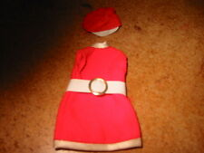 Dawn Doll, Jessica's Stewardess, Hat & Dress in Red in Very Good Condition