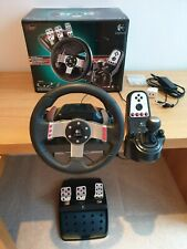 Logitech G27 Steering Wheel, Shifter and Pedals - Fully Working