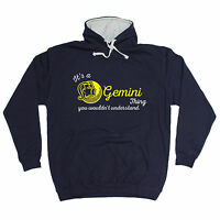 It's A Gemini Thing HOODIE hoody birthday month starsign zodiac funny gift