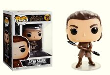 Racing Rally Game Of Thrones Arya Con Two-Headed Spear Pop! Funko Vinyl Figura N