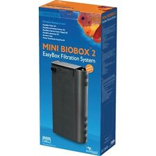 Mini Biobox 2  filtre + pompe à eau noir  Réf : 326779 AQUATLANTIS
