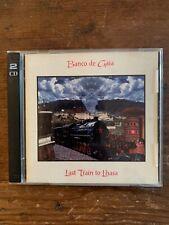 Banco de Gaia Last Train to Lhasa 2 CD Mammoth Records 1995 Scarce Like New