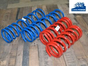 Lada Niva 2009-On Front And Rear Progressive Tuning Coil Spring Set Upgrade 4pcs