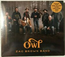 Zac Brown Band ‎– The Owl [2019, CD] New Sealed 💿