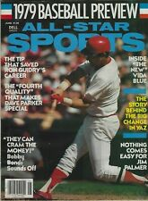 ALL-STAR SPORTS 1979 BASEBALL PREVIEW CARL YASTRZEMSKI ON COVER