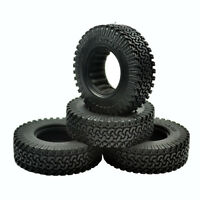 4Pcs Rc Rock Crawler 1.9 Inch 98mm Tires Wheels for 1/10 Tamiya D90 SCX10 CC01