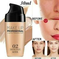 Liquid Foundation Face Base Concealer Matte Primer Makeup Lasting Professional