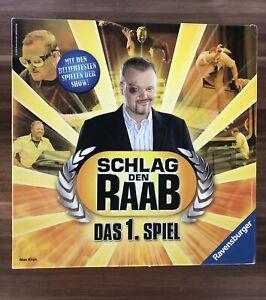 """Schlag den Raab """"Das Spiel"""" TV KULT Ravensburger Brettspiel / ALLE TEILE DA"""
