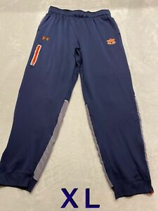 Auburn Tigers Team Issued Player Issued Under Armour XL Pants