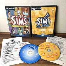 The Sims 1 - Base PC Game With On Holiday Expansion Pack - Retro Bundle