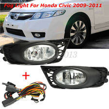 2x FOR HONDA CIVIC FD SDN HYBRID 09-11 FRONT LEFT FOG LIGHT LAMP HALOGEN H11