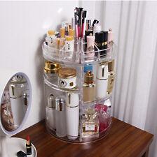 3 Tier Makeup organizer storage Holder Jewelry Display 360° Rotating box case B1