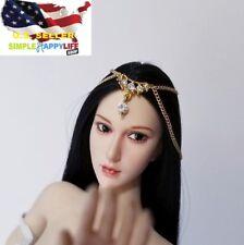 "1/6 scale headband jewelry Headpiece Chain for 12"" female figure phicen ❶USA❶"
