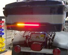 """H-D Tour Pak 11"""" Run/Brake/Turn LED Light Bar & Wiring Harness - Smoked Lens"""
