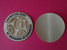 Patch LFP Champion officiel  SENSCILIA LEXTRA 2009 Bordeaux