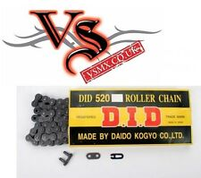DID 520 Pitch Chain 120 Link for 125cc & above Motocross all Makes Models 520RJ