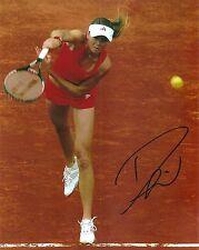 Daniela Hantuchova SEXY Tennis 8x10 Photo Signed Auto W/COA