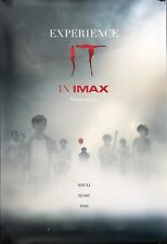 Stephen King's IT 2017 IMAX Original DS 4x6' US Bus Shelter Lobby Movie Poster
