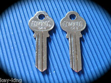 "Edmonds Lockwood Key Blank Pair ""G"" Keyblank-Free Postage!"