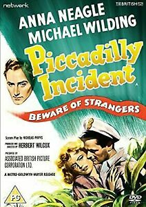 Piccadilly Incident DVD 1946 Movie Anna Neagle, Michael Wilding, Herbert Wilcox