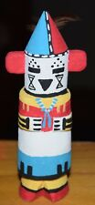 HOPI MAKING THUNDER CARVING GRACE POOLEY ROUTE 66 KACHINA CARVING HOPI FREE SHIP