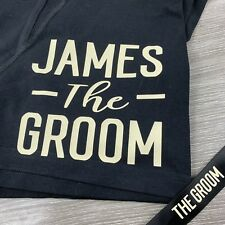 The Groom Boxer Shorts in a Gift Box