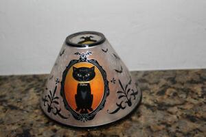 Yankee Candle Portrait of Sophia Jar Candle Shade~Halloween~Black Cat~