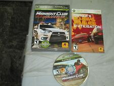 Midnight Club: Los Angeles -- Complete Edition  (Microsoft Xbox 360) complete