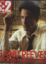 KEANU REEVES interview DAVID TENNANT UKmag 2005 ONE DAY ISSUE