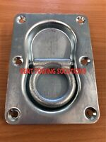 New Heavy Duty Trailer Double Twin Recessed Lashing Tie Down Ring, Ifor Williams