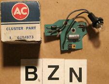 1973 Oldsmobile Instrument Cluster Low Fuel Indicator ~ GM # 6494873