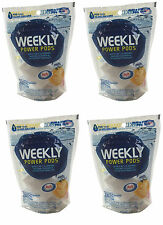 4) Hth Swimming Pool Weekly Power Pods 3-In-1 Clarifier Enzyme Phosphate Remover