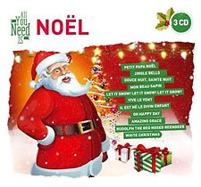 CD NEUF scellé - ALL YOU NEED IS NOEL / Digipack 3 CD - 60 Titres -C34