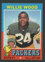 1971 Topps #55 Willie Wood NM/NM+ Packers 18810